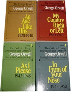 george orwell collected essays journalism and letters my george orwell collected essays journalism and letters my country right or left united architects